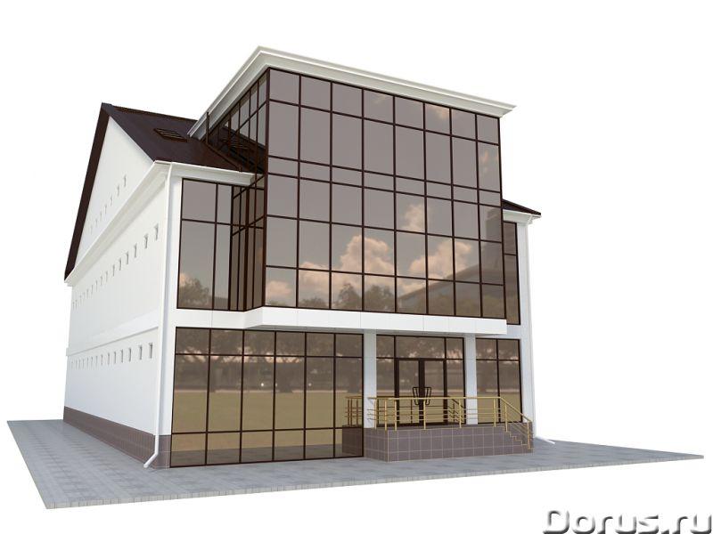 Алюминиевые и раздвижные дверные системы Керчь - Строительные услуги - Остекление фасадов зданий - э..., фото 1