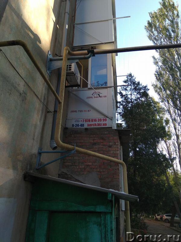 Расширение балконов под ключ (отделка, обшивка, пол, потолок) в Керчи - Строительные услуги - Расшир..., фото 3